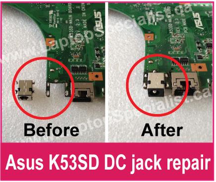 Laptop DC Power Jack Repair in Toronto - Laptop Specialist