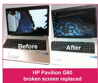 Laptop LCD / LED Screen Repair or Replacement in Toronto