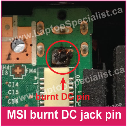 Laptop DC Power Jack Repair in Toronto - Laptop Specialist