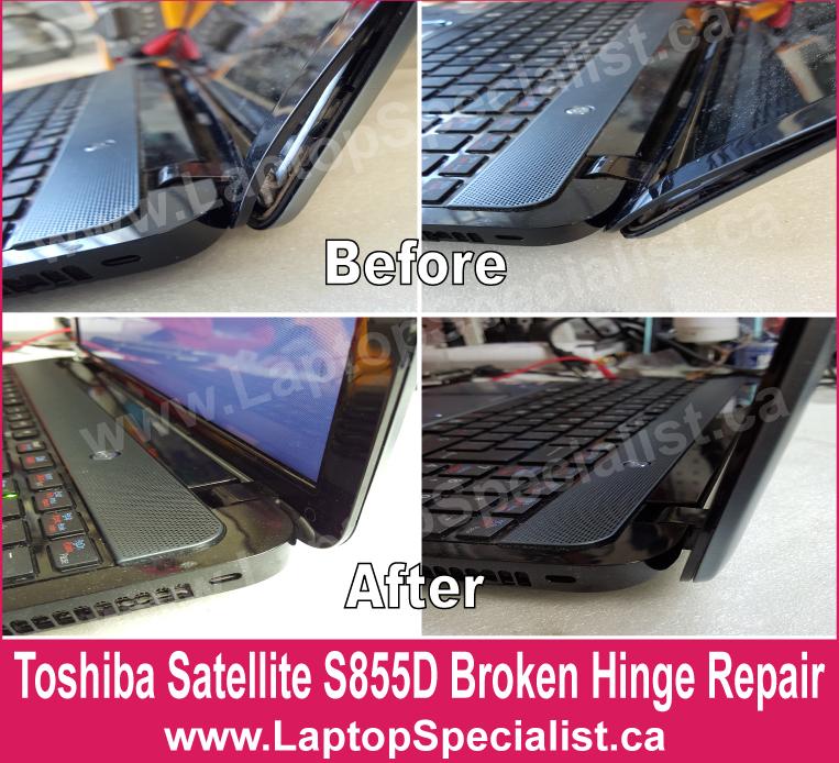 how to fix hp broken hinge